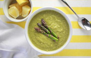 Meatless Monday: Cleansing Springtime Asparagus Leek Soup