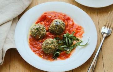 Meatless Monday: Vegetarian Eggplant Meatballs Are Mealtime Magic