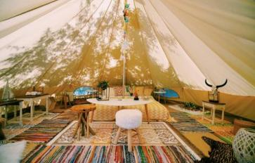 Glamping: Get Out In Nature & Camp—In Luxury