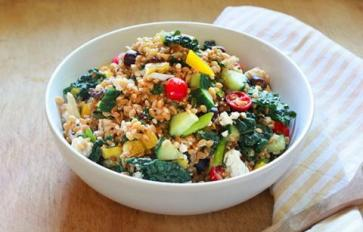 Meatless Monday: Endlessly Adaptable Mediterranean Salad With Grains